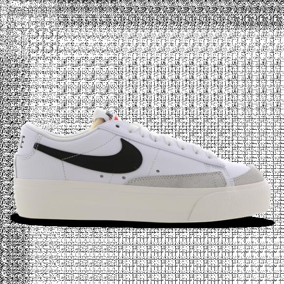 Nike Blazer Low Platform White Black (W) - DJ0292-101