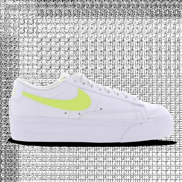 Chaussure Nike Blazer Low Platform pour Femme - Blanc - DJ0292-102
