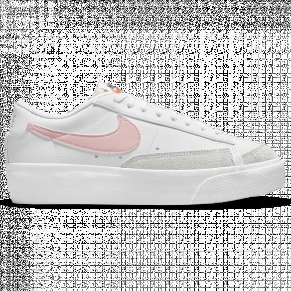 Nike Blazer Low Platform Women's Shoes - White - DJ0292-103