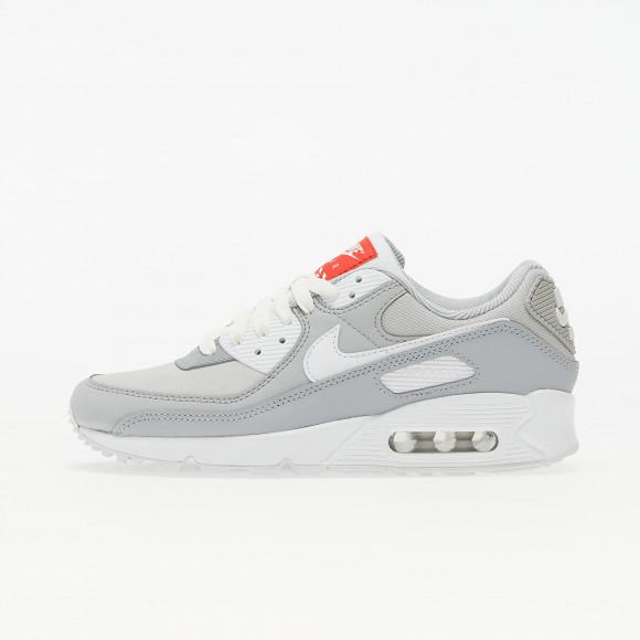 Nike W Air Max 90 Lt Smoke Grey/ White-Summit White - DJ1494-001