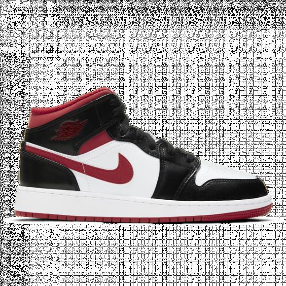 Air Jordan 1 Mid Gym Red Black White
