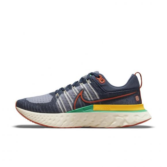 Nike React Infinity Run Flyknit 2 Men's Running Shoe - Blue - DJ5181-400
