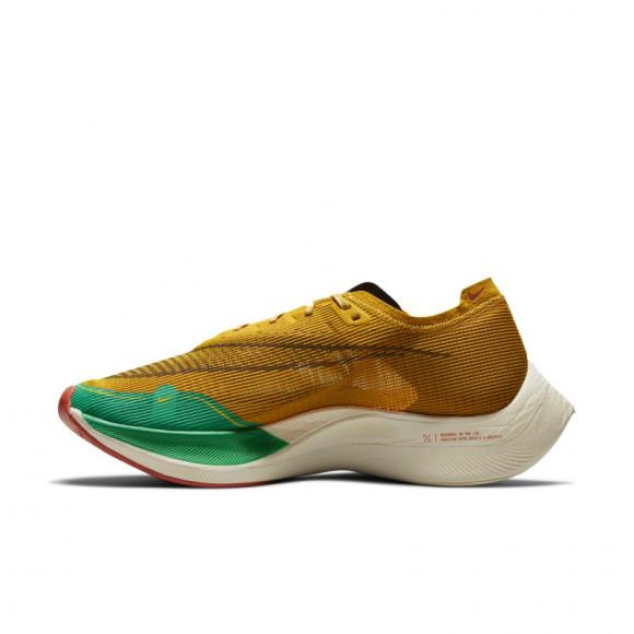 Nike ZoomX Vaporfly NEXT% 2 Men's Road Racing Shoe - Yellow - DJ5182-700