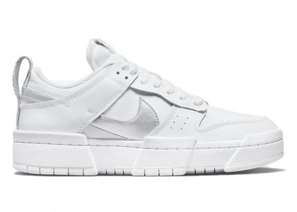 Nike Dunk Low Disrupt White Silver (W) - DJ6226-100