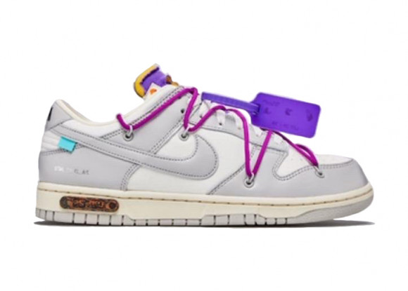 Nike Off-White x Dunk Low 'Lot 28 of 50' - DM1602-111