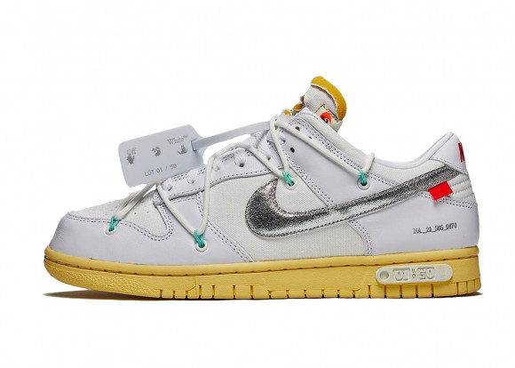 Nike Dunk Low Off-White Lot 1 - DM1602-127