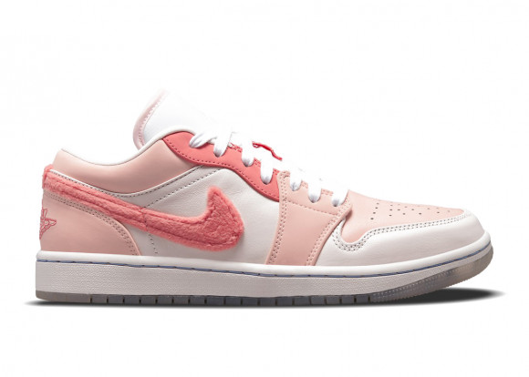 Jordan 1 Low Mighty Swooshers Pink - DM5443-666