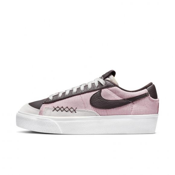 Nike Blazer Low Platform Women's Shoes - Pink - DM9471-600