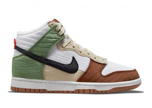 Nike Dunk High Toasty White Brown Green - DN9909-100