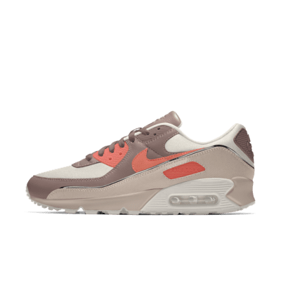 Scarpa personalizzabile Nike Air Max 90 Unlocked By You - Marrone ...