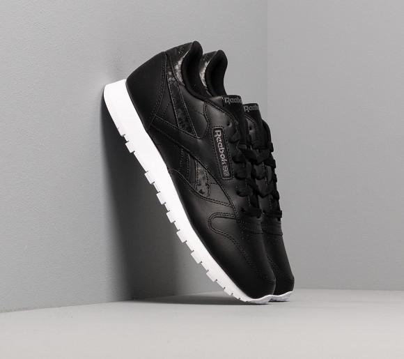 Reebok Classic Leather Black/ Black/ White - DV8155