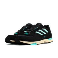 adidas ZX 4000 Lace Up Sneakers Casual Shoes Black- Mens- Size 9 D - EE4763