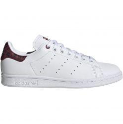 adidas Stan Smith W Ftw White/ Core Burgundy/ Core Black - EE4896
