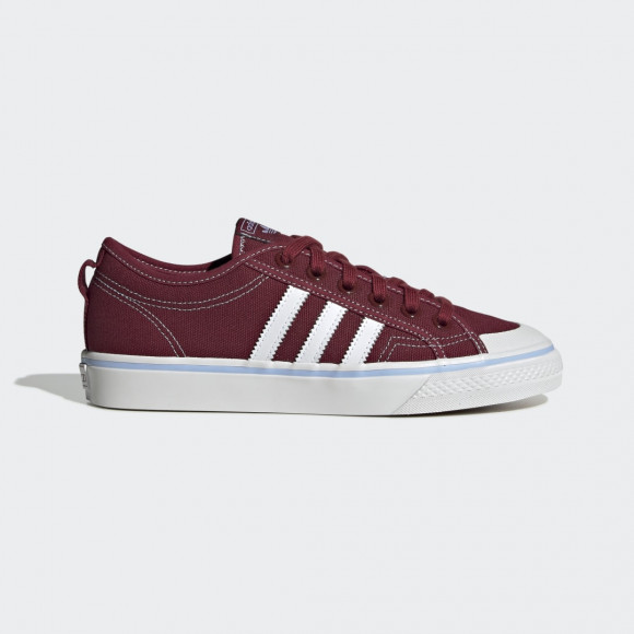 adidas Nizza Shoes Collegiate Burgundy Womens - EE5619