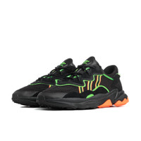 adidas Ozweego Black Orange Green - EE5696