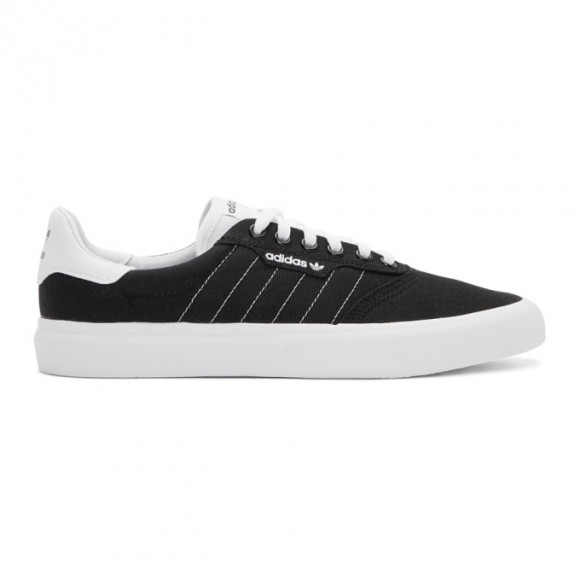 adidas Originals Black and White 3MC Sneakers - EE6090