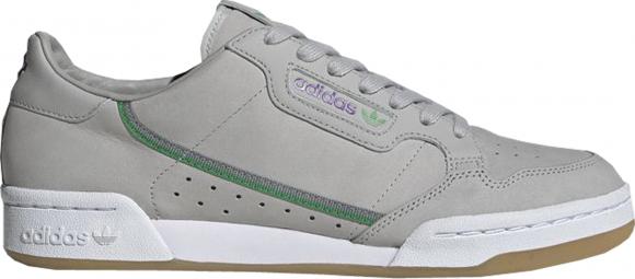 adidas Continental 80 TfL Elizabeth Line Grey Purple Green - EE7268