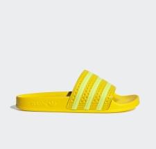 adidas Adilette Slides Yellow Womens - EE7449
