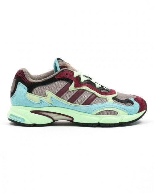 adidas Temper Run Core Black Easy Mint Glow Green