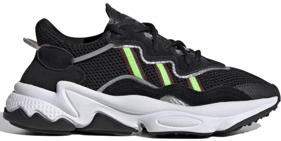 adidas Ozweego J core black/solar green/onix core black/solar green/onix - EE7772