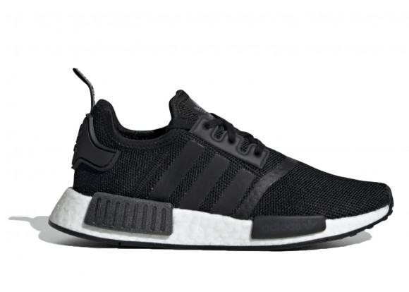 adidas NMD R1 Core Black White (GS) - EE8463