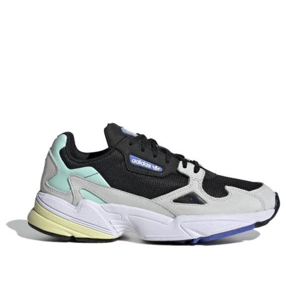 top design stable quality excellent quality adidas Falcon W black/chalk white/clear mint - EE8939