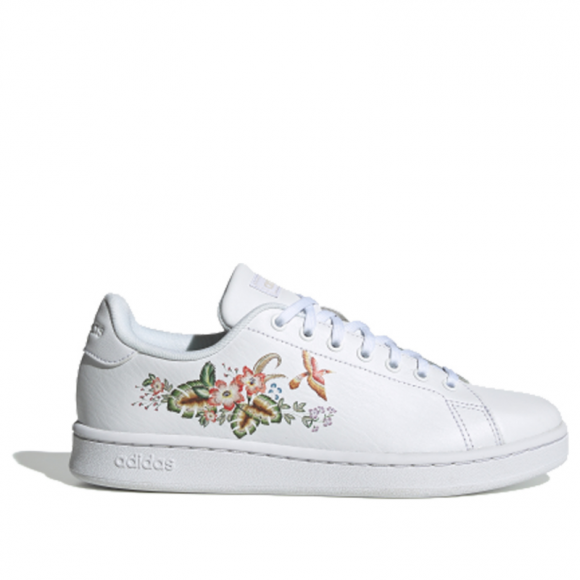 Adidas Womens WMNS Advantage 'Rio White' Footwear White/Raw White EF0135 - EF0135