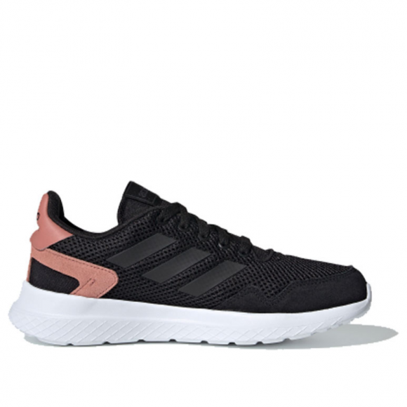 Adidas Neo Womens WMNS Archivo 'Raw Pink' Core Black/Core Black/Raw Pink Marathon Running Shoes/Sneakers EF0451 - EF0451