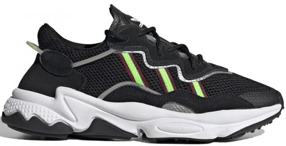 adidas Ozweego Core Black Solar Green (W)