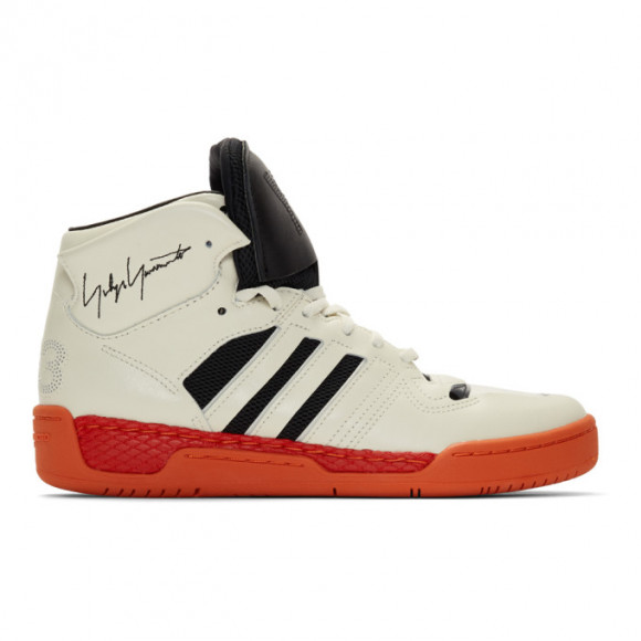 Y-3 Off-White and Black Hayworth Sneakers - EF2539