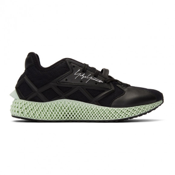 Y-3 Black Runner 4D Sneakers - EF2620