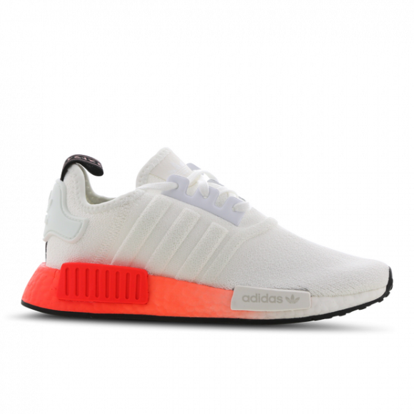 Adidas Nmd R1 Cloud White Solar Red Gs Ef5860
