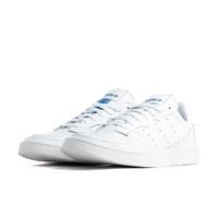 adidas Originals White Leather Supercourt Sneakers - EF5887
