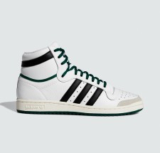 adidas Top Ten Hi Ftw White Core Black Core Green