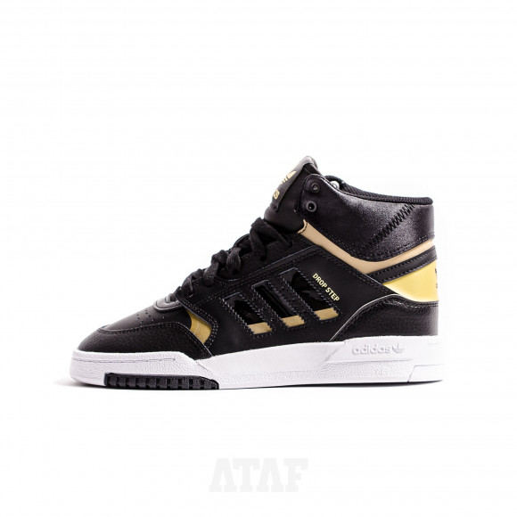 adidas Drop Step J Black Gold EF7154