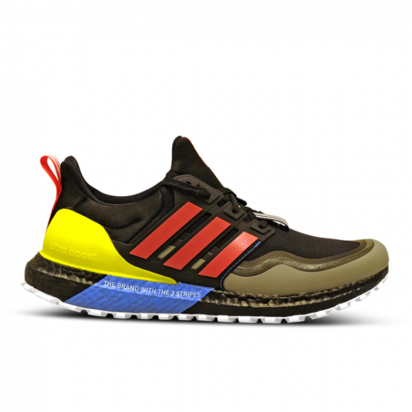 adidas Ultra Boost All Terrain Shock Red Yellow - EG8097