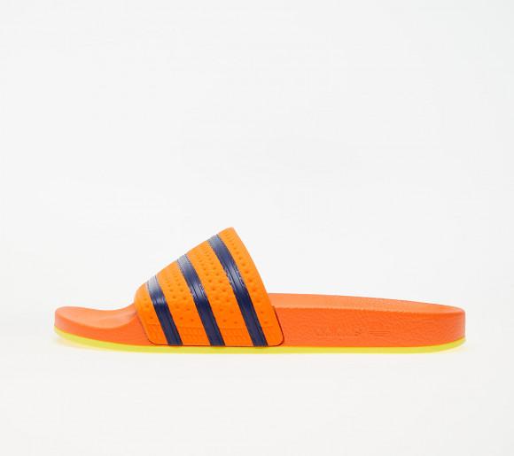adidas Adilette Trace Orange/ Hi-Res Orange/ Dark Blue - EG8806