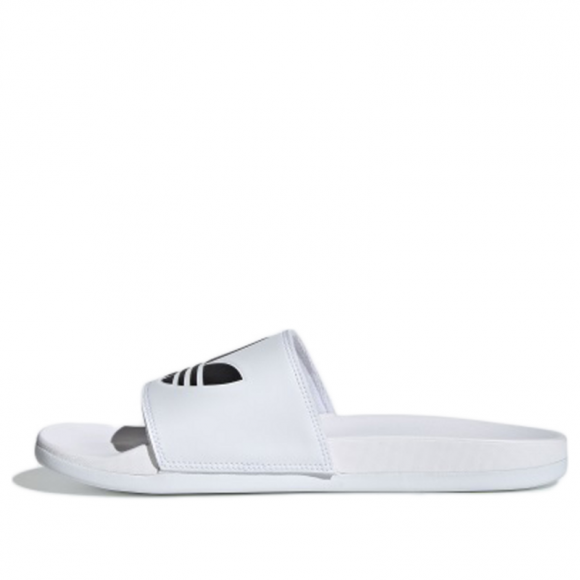 Adidas Adilette Lite 'White' White/Black Slides EG9841 - EG9841