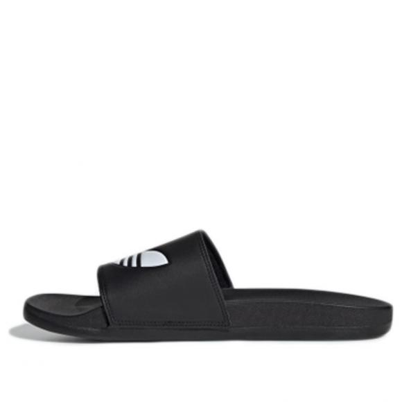 Adidas Adilette Lite 'Black' Black/White Slides EG9842 - EG9842