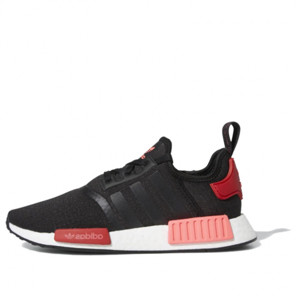 adidas NMD_R1 Shoes Core Black Womens - EH0206