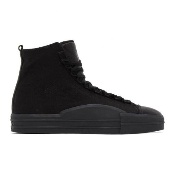 Y-3 Black Yuben Mid Sneakers - EH1385