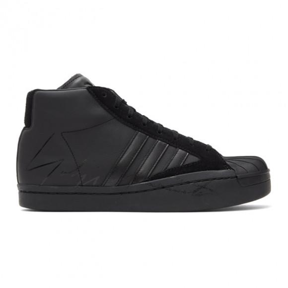 Y-3 Black Yohji Pro Sneakers - EH2273