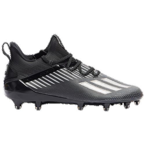 adidas adiZero - Men's Molded Cleats Shoes - Core Black / Silver Metallic / Night Metallic - EH2707,EH2707-001
