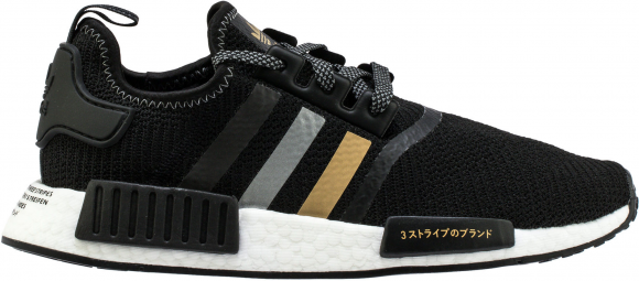 adidas NMD R1 Shoe Palace Black and Gold