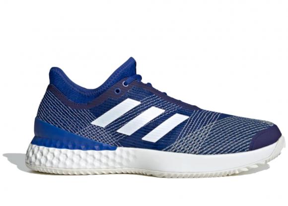 adidas Adizero Ubersonic 3.0 Clay Shoes Royal Blue Mens - EH2872