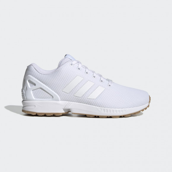adidas ZX Flux Shoes Cloud White Mens - EH3150