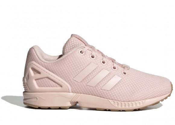 adidas Originals ZX Flux - Girls' Grade School Running Shoes - Pink / Pink / Pink