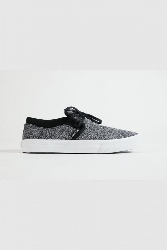 Supra - Kuba Low Top Sneaker in Asphaltgrau - ER54352
