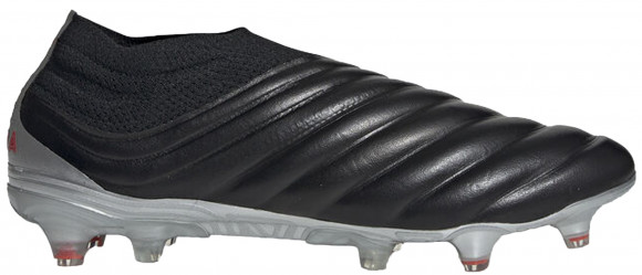 adidas Copa 19+ Firm Ground Cleat Core Black Hi Res Red - F35514