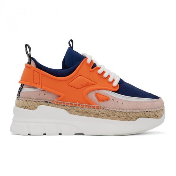 Kenzo Orange K-Lastic Sneakers - F962SN257F51